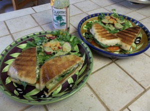 I love me some cilantro dressing from Trader Joe's...  Came out kind of kickin'