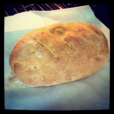 What is better than hot home-bread out of the oven with gobs and gobs of butter?