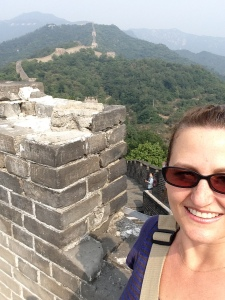 Me and the Great Wall of China